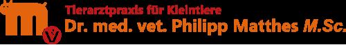 Tierarztpraxis für Kleintiere · Dr. med. vet. Philipp Matthes · Bad Wilungen